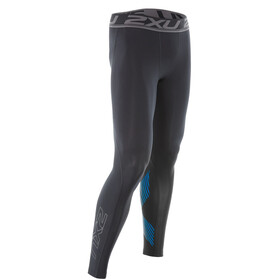 2XU Accelerate Compression Tights Men, black/blue
